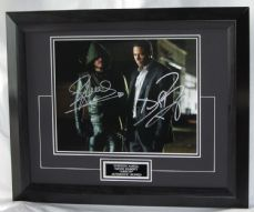 "A780SADR STEPHEN AMELL & DAVID RAMSEY - ""ARROW"" DUAL SIGNED"